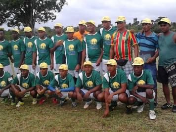 Time do Caboto - V Copa Rural de Futebol de Nazaré - Foto: Jerônimo Leite